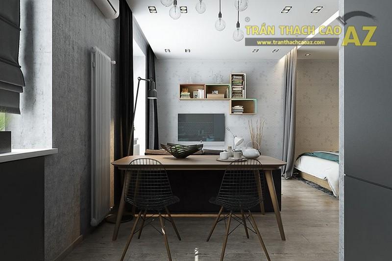 Trần thạch cao căn hộ chung cư T11, Time City