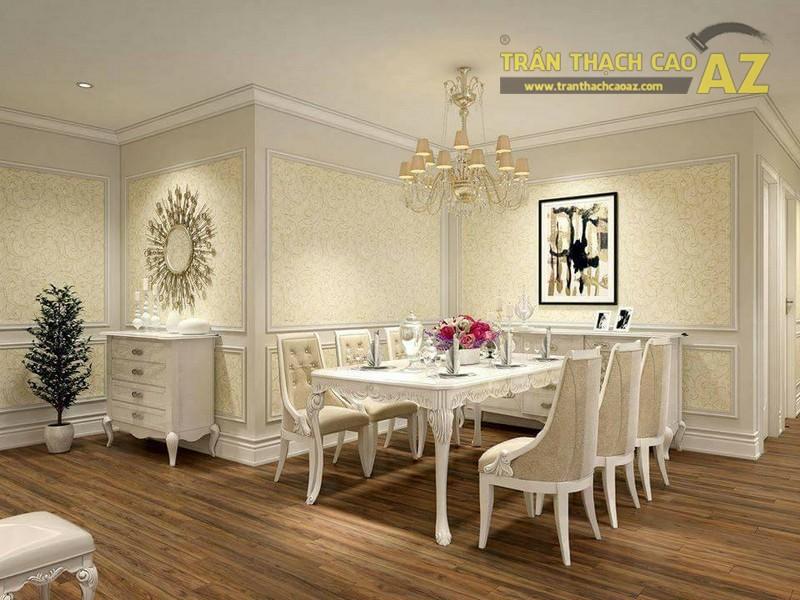 Trần thạch cao cho căn hộ chung cư Golden City