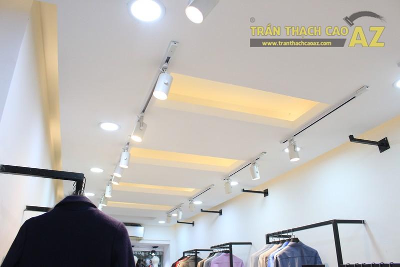 Trần thạch cao cho cửa hàng thời trang Hàn Quốc ZiChi, số 22 Thái Hà, Đống Đa, Hà Nội