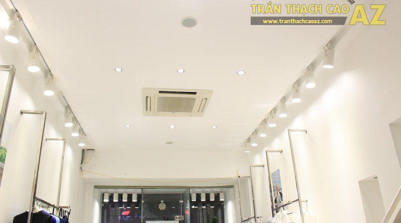 Trần thạch cao cho cửa hàng thời trang Legine Đống Đa, Hà Nội