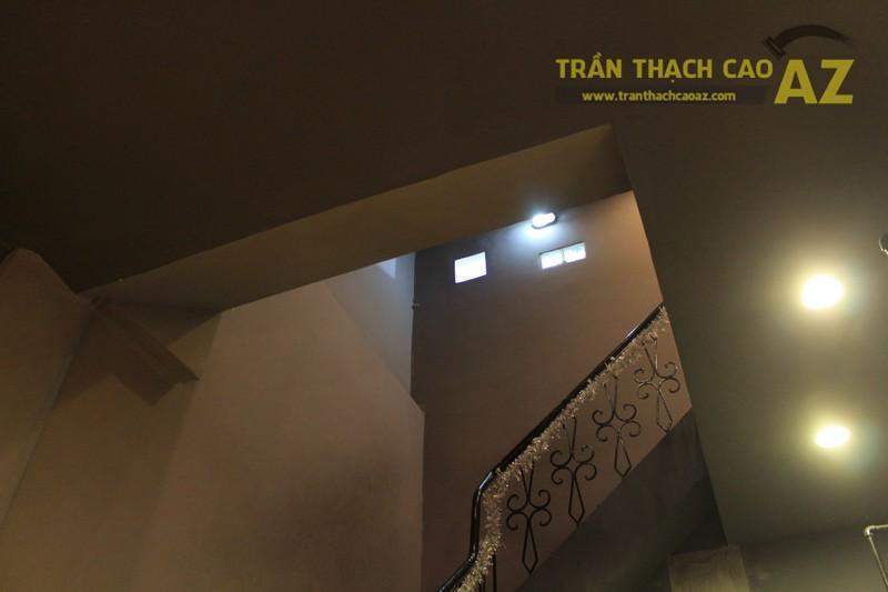 Trần thạch cao cho quán trà Đài Loan 26, Thái Hà, Đống Đa