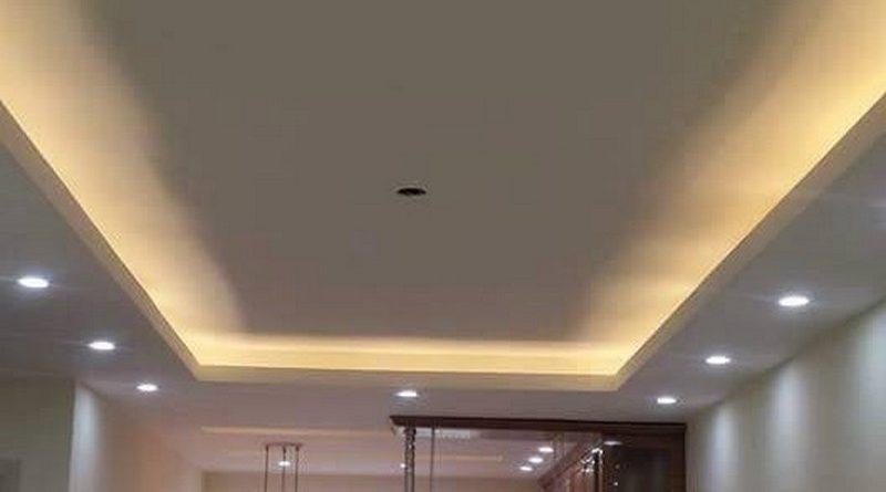 Thi công trần thạch cao chung cư thiết kế đẹp đơn giản của nhà anh Hải, tòa Linh Đàm HH2 - 03