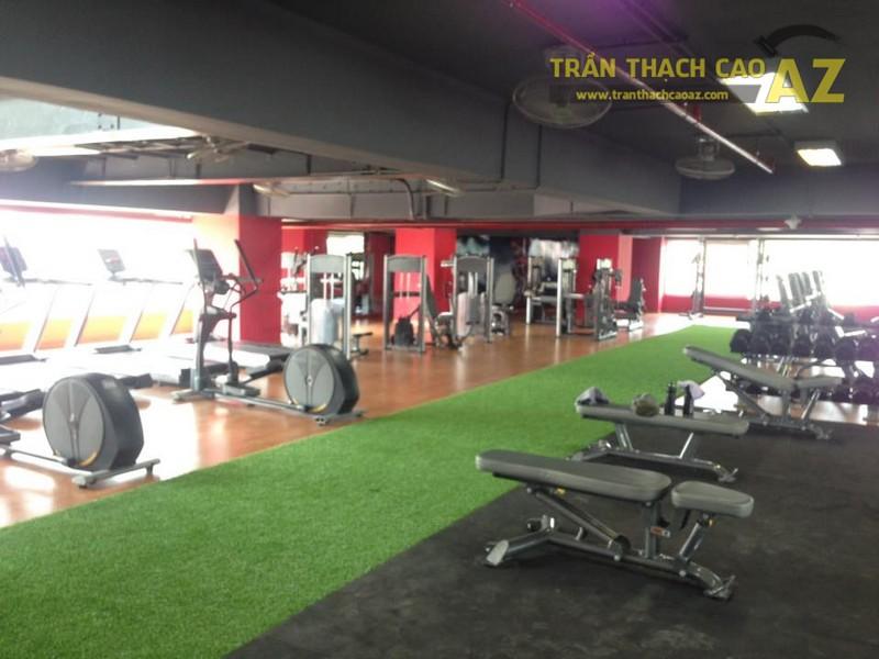 Trần thạch cao đẹp đơn giản, hiện đại của Vital Fitness & Yoga Center, Ngô Thì Nhậm - 11