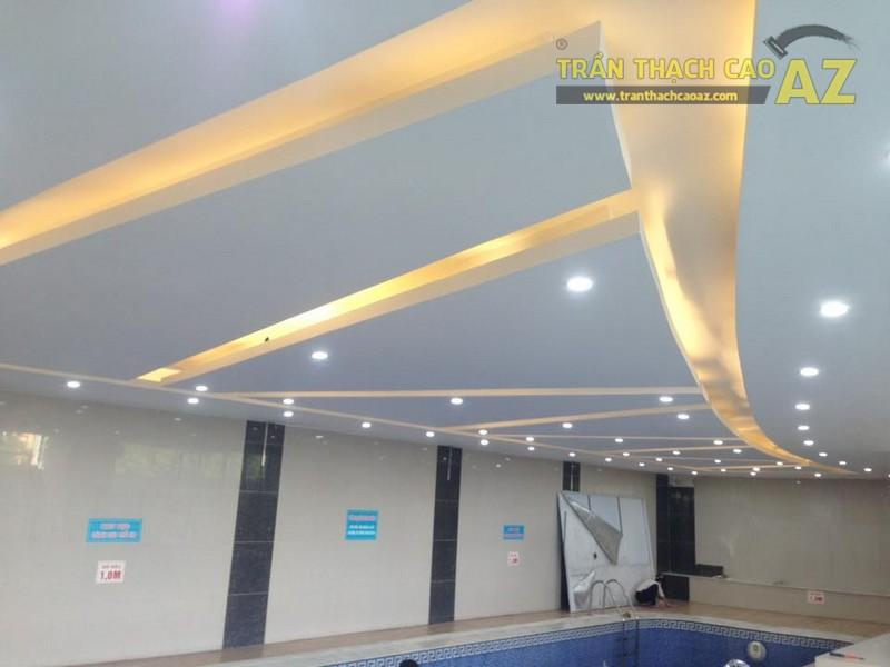 Trần thạch cao đẹp đơn giản, hiện đại của Vital Fitness & Yoga Center, Ngô Thì Nhậm - 06