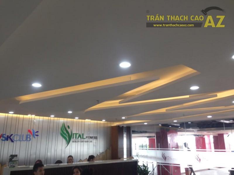 Trần thạch cao đẹp đơn giản, hiện đại của Vital Fitness & Yoga Center, Ngô Thì Nhậm - 01