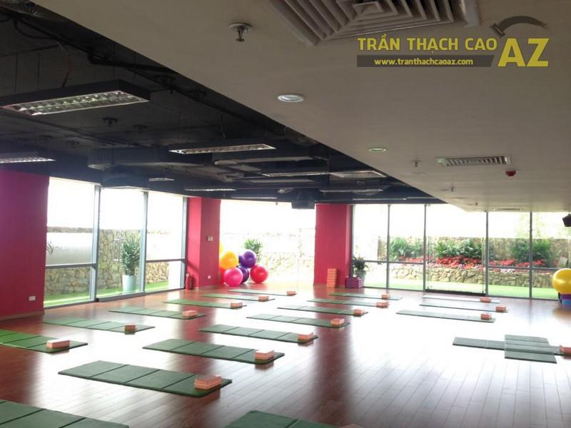 Trần thạch cao đẹp đơn giản, hiện đại của Vital Fitness & Yoga Center, Ngô Thì Nhậm - 10