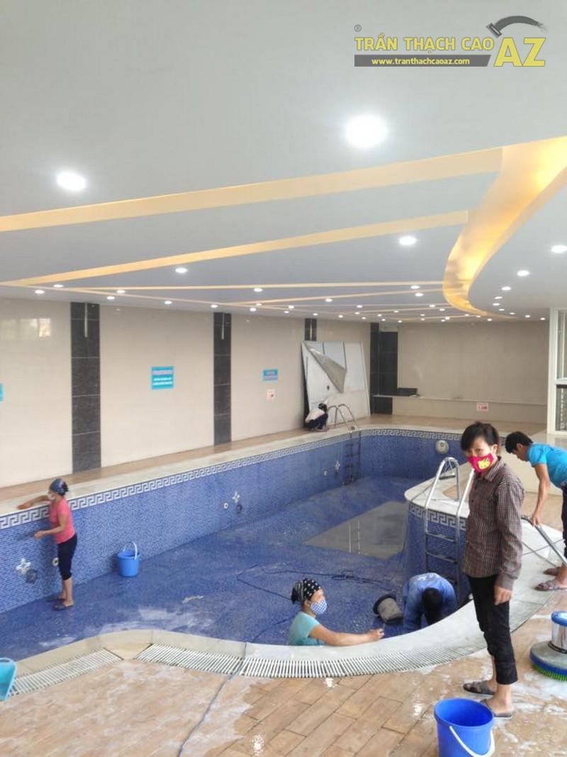 Trần thạch cao đẹp đơn giản, hiện đại của Vital Fitness & Yoga Center, Ngô Thì Nhậm - 05