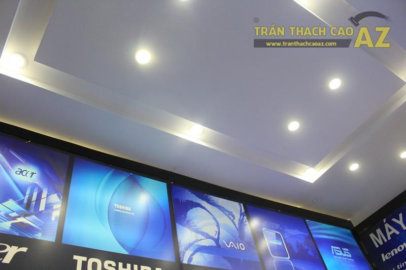 Trần thạch cao đẹp hiện đại với tạo hình trần giật cấp của Máy tính Đức Việt - 04
