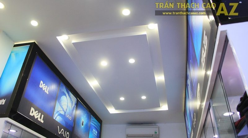 Trần thạch cao đẹp hiện đại với tạo hình trần giật cấp của Máy tính Đức Việt, Xã ĐànTrần thạch cao đẹp hiện đại với tạo hình trần giật cấp của Máy tính Đức Việt, Xã Đàn