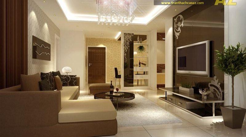 Trần thạch cao - giải pháp đơn giản để tạo không gian sống đẹp nhất