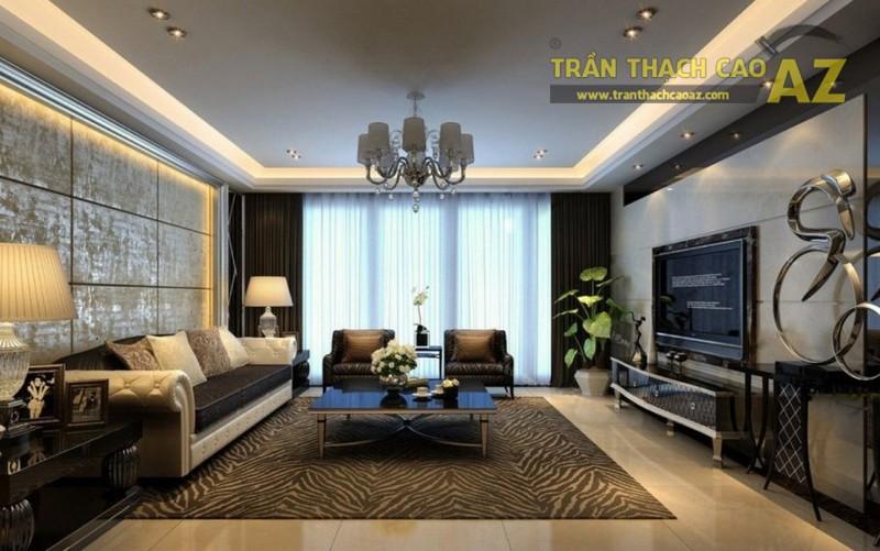 Trần thạch cao - giải pháp đơn giản để tạo không gian sống đẹp nhất - 02
