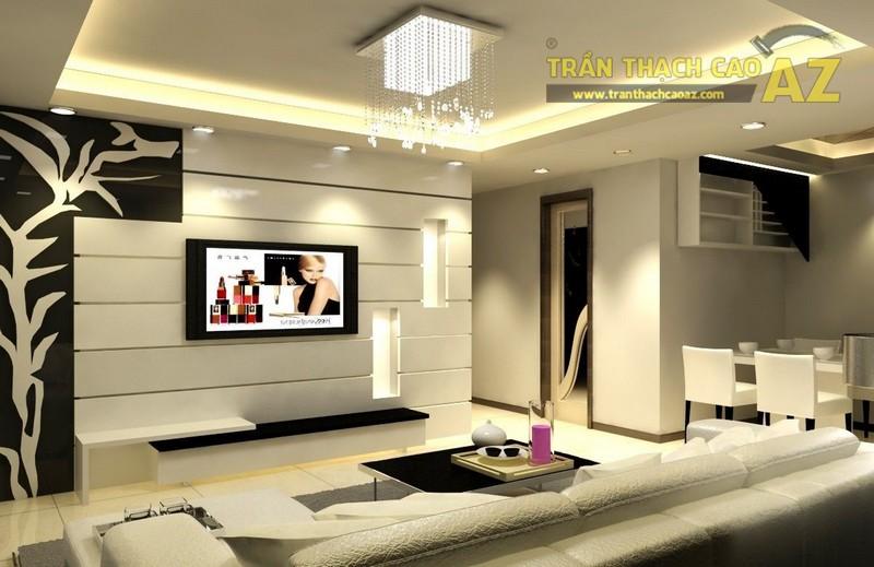 Trần thạch cao - yếu tố không thể thiếu của thiết kế nội thất hiện đại - 03