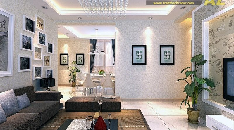 Trần thạch cao - yếu tố không thể thiếu của thiết kế nội thất hiện đại