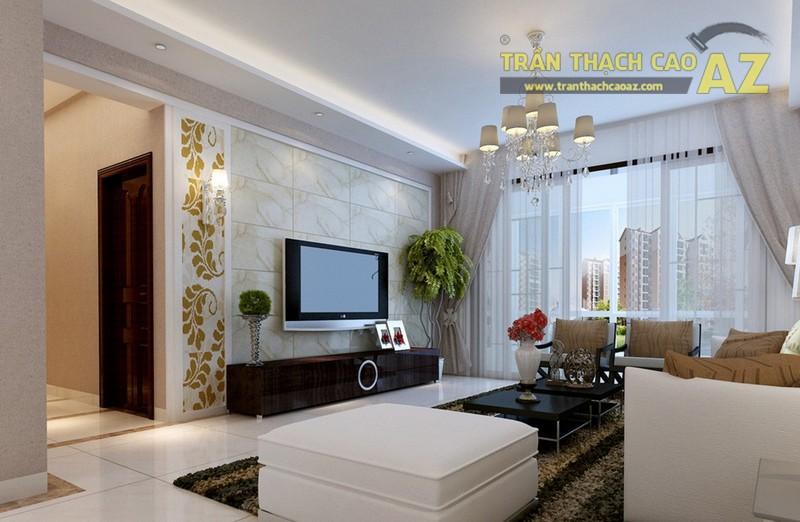 Trần thạch cao - yếu tố không thể thiếu của thiết kế nội thất hiện đại - 01