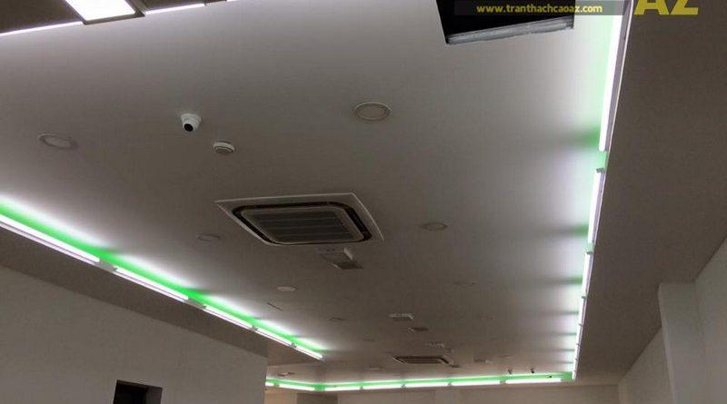 Hoàn thiện trần vách thạch cao khu vực sảnh của Công ty TNHH Y Dược Kinh Đô, Ba Đình