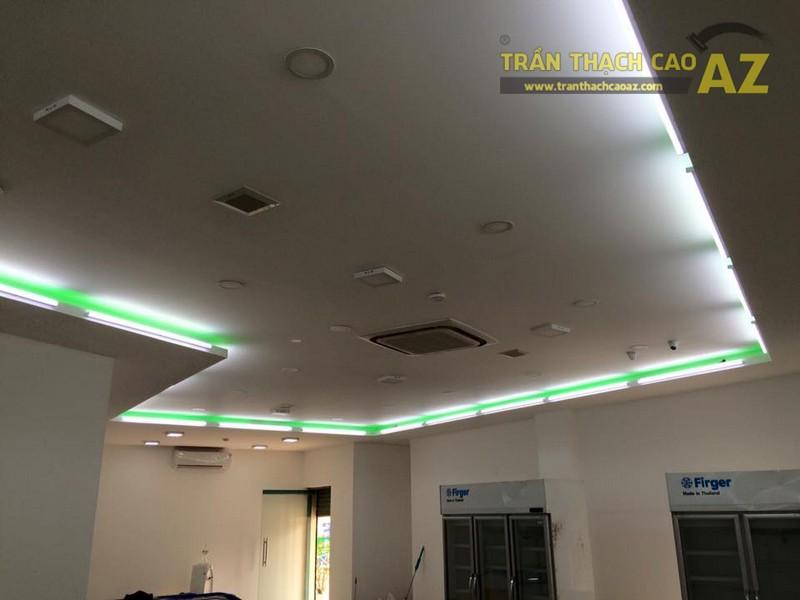 Hoàn thiện trần vách thạch cao khu vực sảnh của Công ty TNHH Y Dược Kinh Đô - 06