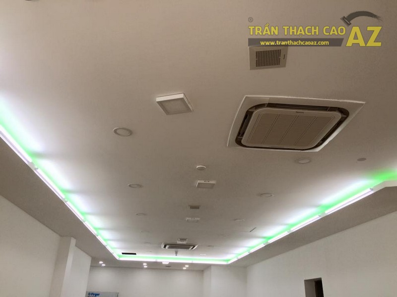 Hoàn thiện trần vách thạch cao khu vực sảnh của Công ty TNHH Y Dược Kinh Đô - 04