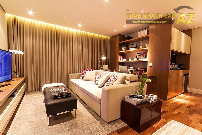 Tư vấn thiết kế trần thạch cao cho nhà biệt thự