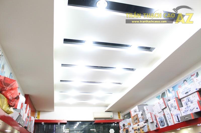 Bàn giao hạng mục trần thạch cao cho cửa hàng gia dụng 243 Phố Huế, Hai Bà Trưng, Hà Nôi