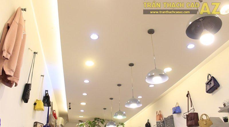 Chọn mẫu trần thạch cao cho shop nhỏ, dài đẹp ấn tượng như Mộc, 56 phố Huế