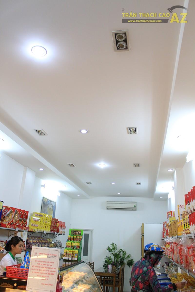 Đơn giản, hiện đại như thiết kế trần thạch cao của Thế giới bánh kẹo Hải Hà - Kotobuki Giảng Võ - 01