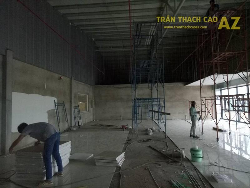 Đơn vị thi công trần thạch cao cho nhà máy - nhà xưởng tốt nhất