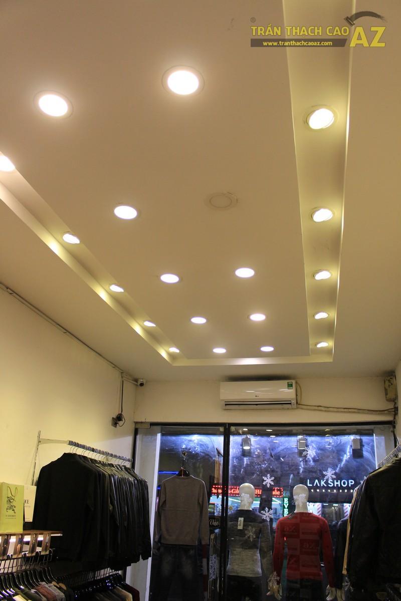 Hoàn thiện thi công trần thạch cao cho cửa hàng thời trang X6 Boutique 237 Phố Huế