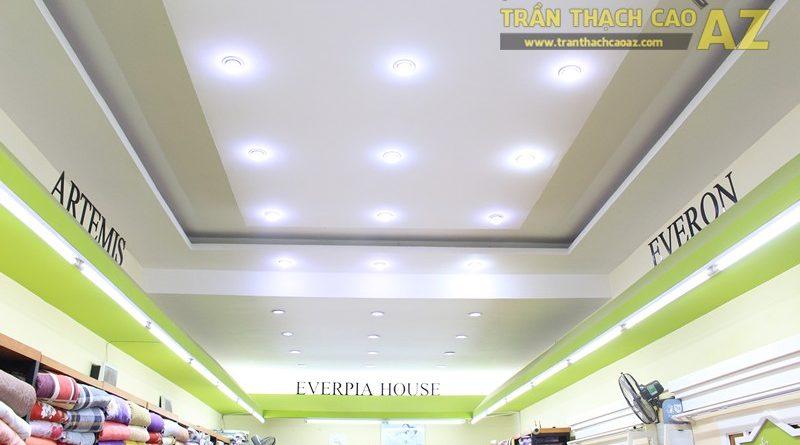 Lắp đèn led trần thạch cao đẹp hài hòa, bắt mắt như showroom Everon Hàn Quốc, 278 Phố Huế