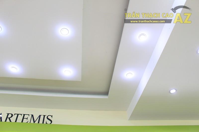 Lắp đèn led trần thạch cao đẹp hài hòa, bắt mắt như showroom Everon Hàn Quốc, 278 Phố Huế - 05