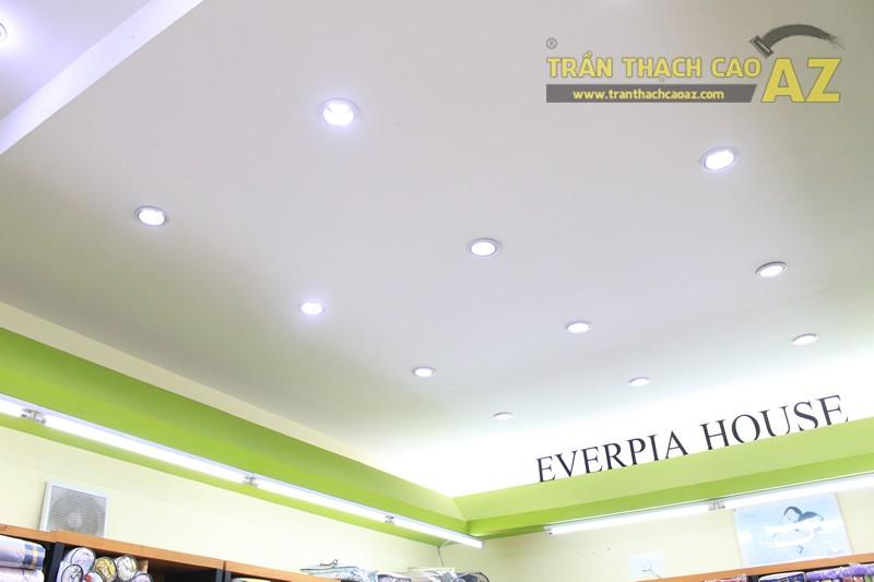 Lắp đèn led trần thạch cao đẹp hài hòa, bắt mắt như showroom Everon Hàn Quốc, 278 Phố Huế - 03