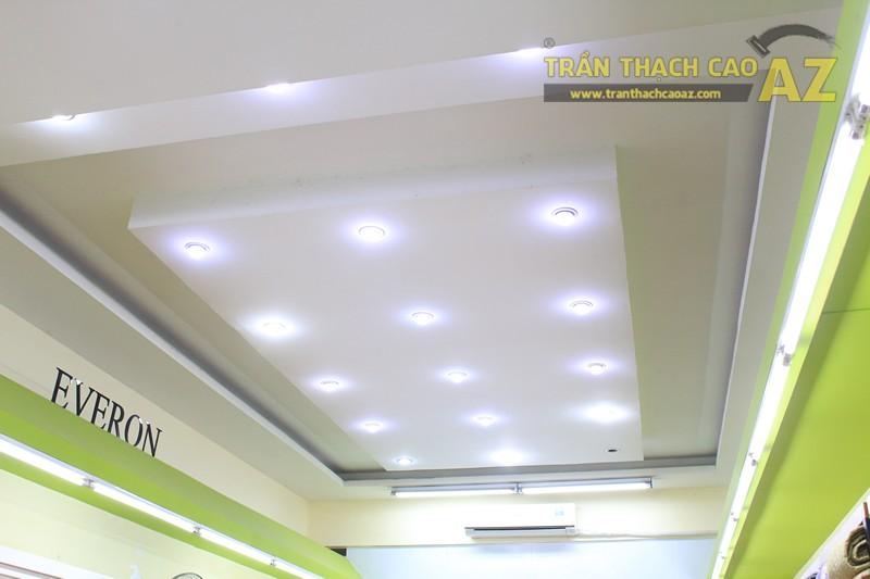 Lắp đèn led trần thạch cao đẹp hài hòa, bắt mắt như showroom Everon Hàn Quốc, 278 Phố Huế - 02