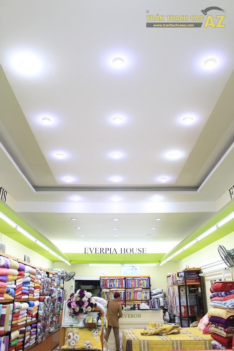 Lắp đèn led trần thạch cao đẹp hài hòa, bắt mắt như showroom Everon Hàn Quốc, 278 Phố Huế - 01