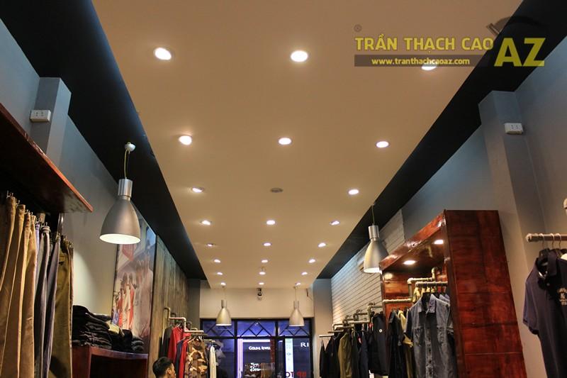 Ngắm mẫu trần thạch cao đơn giản, đep hiện đại của shop AKCLUB, 88B phố Huế - 01