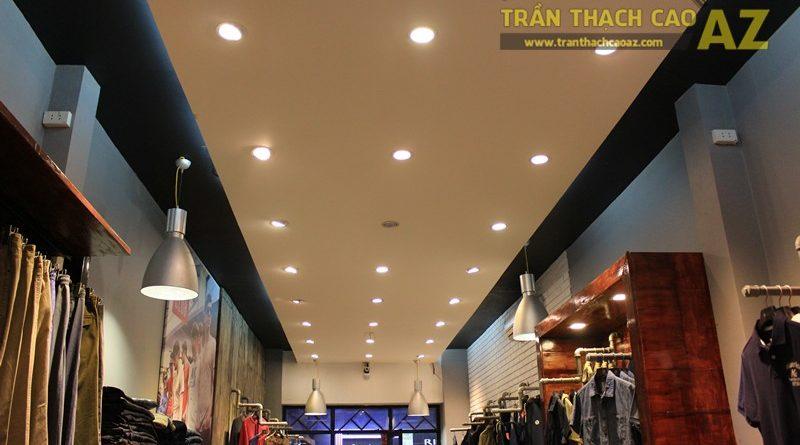 Ngắm mẫu trần thạch cao đơn giản, đep hiện đại của shop AKCLUB, 88B phố Huế