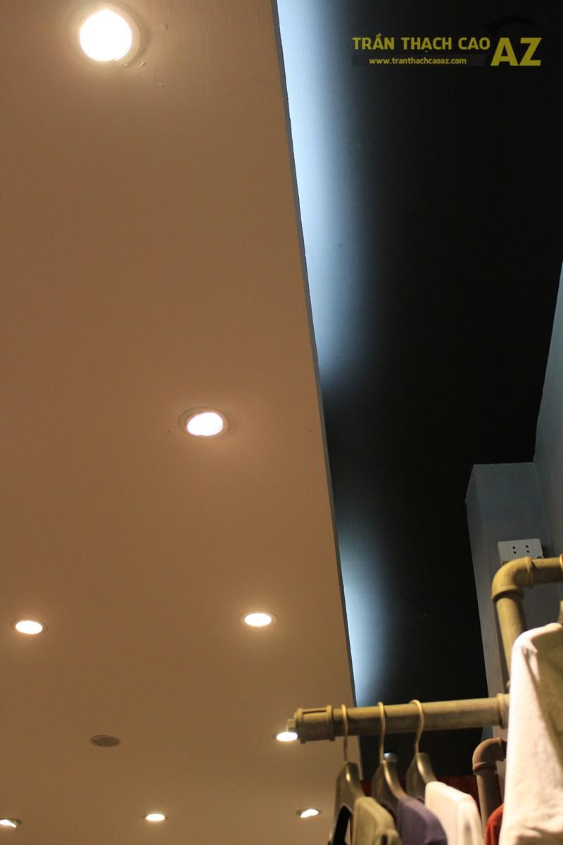 Ngắm mẫu trần thạch cao đơn giản, đep hiện đại của shop AKCLUB, 88B phố Huế - 03