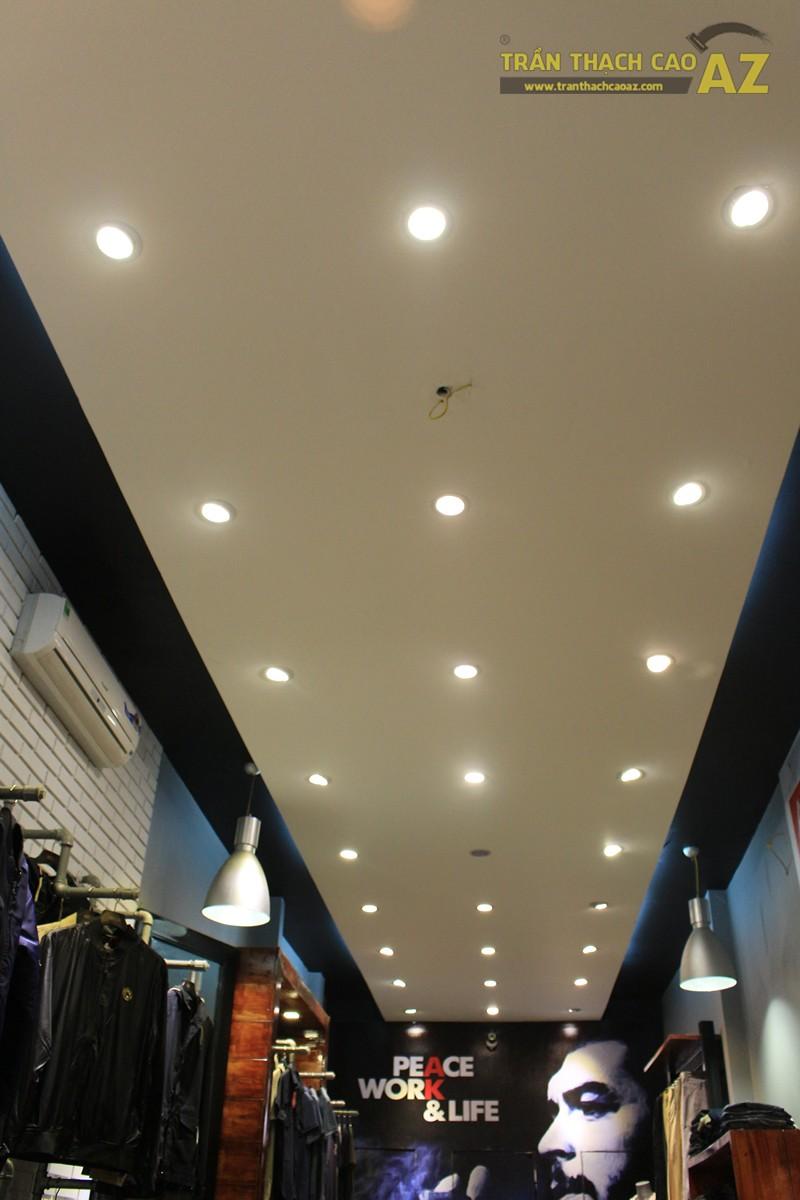 Ngắm mẫu trần thạch cao đơn giản, đep hiện đại của shop AKCLUB, 88B phố Huế - 06