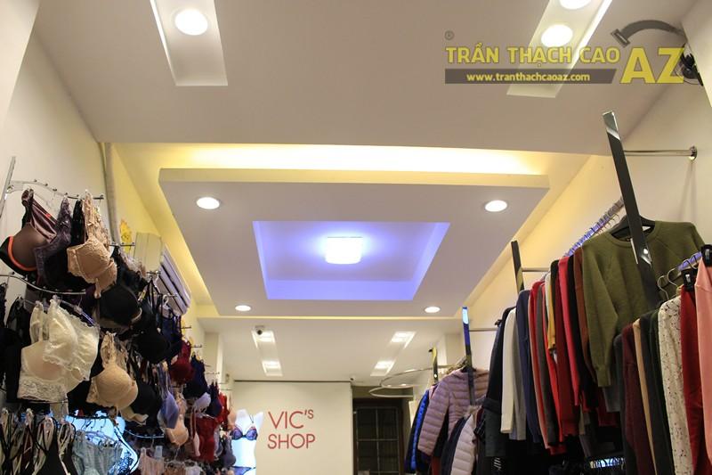 Ngắm thiết kế trần thạch cao shop đẹp tráng lệ của VIC's Shop, 207 Giảng Võ - 01