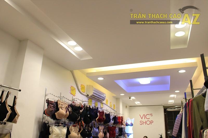 Ngắm thiết kế trần thạch cao shop đẹp tráng lệ của VIC's Shop, 207 Giảng Võ - 02