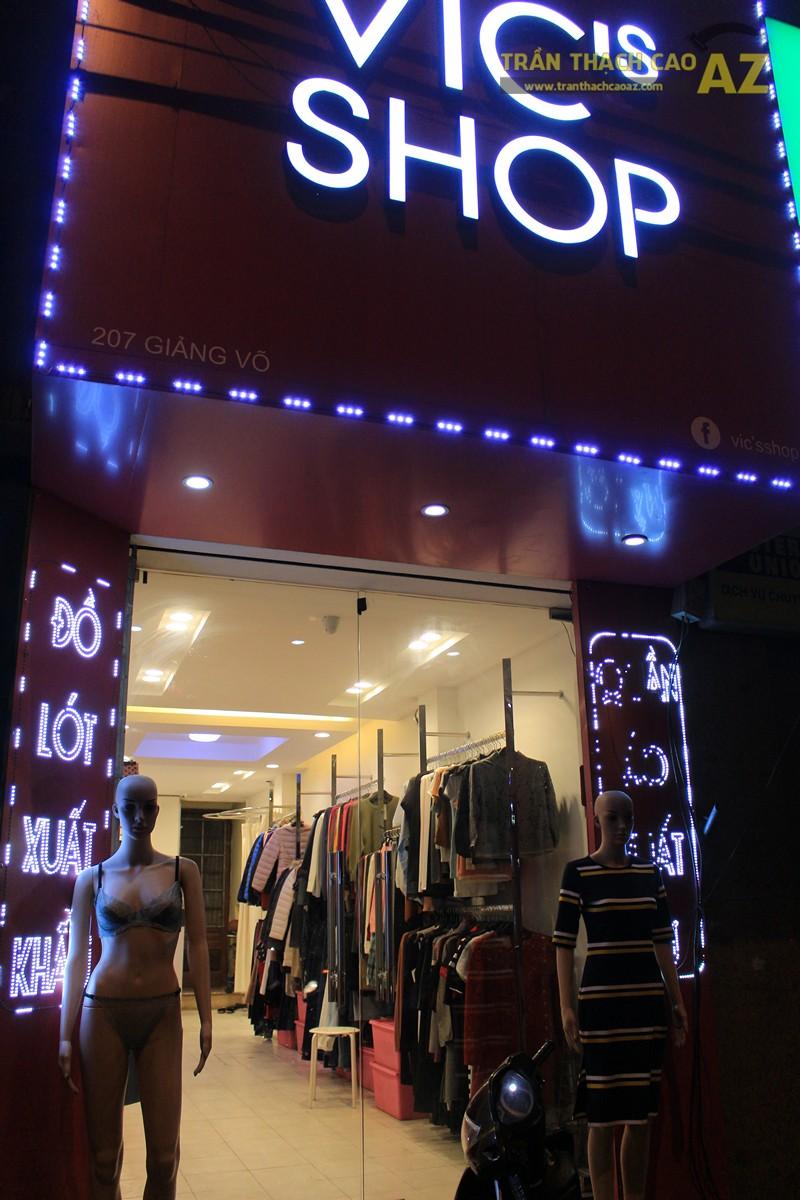 Ngắm thiết kế trần thạch cao shop đẹp tráng lệ của VIC's Shop, 207 Giảng Võ - 06
