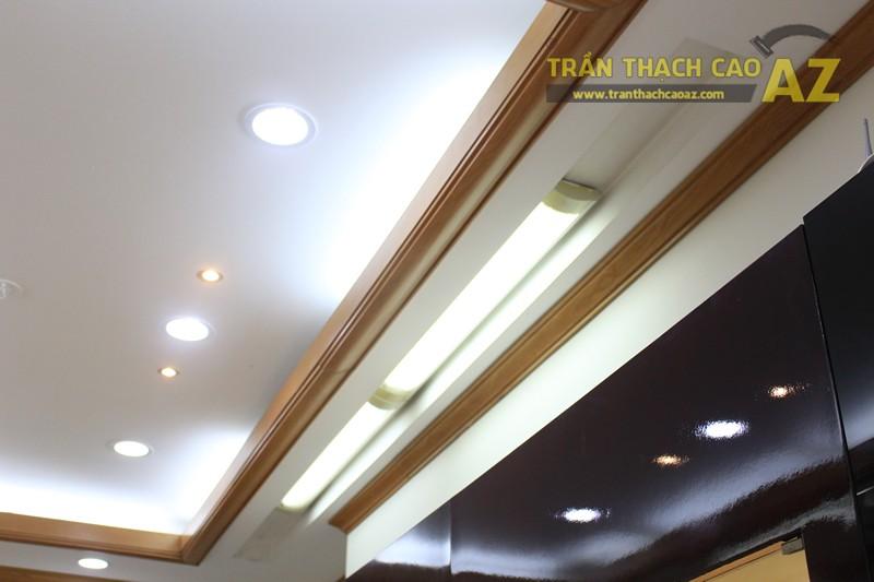 Tạo hình góc cạnh, hiện đại của thiết kế trần thạch cao showroom Duy Anh Watch, 200A phố Huế - 06