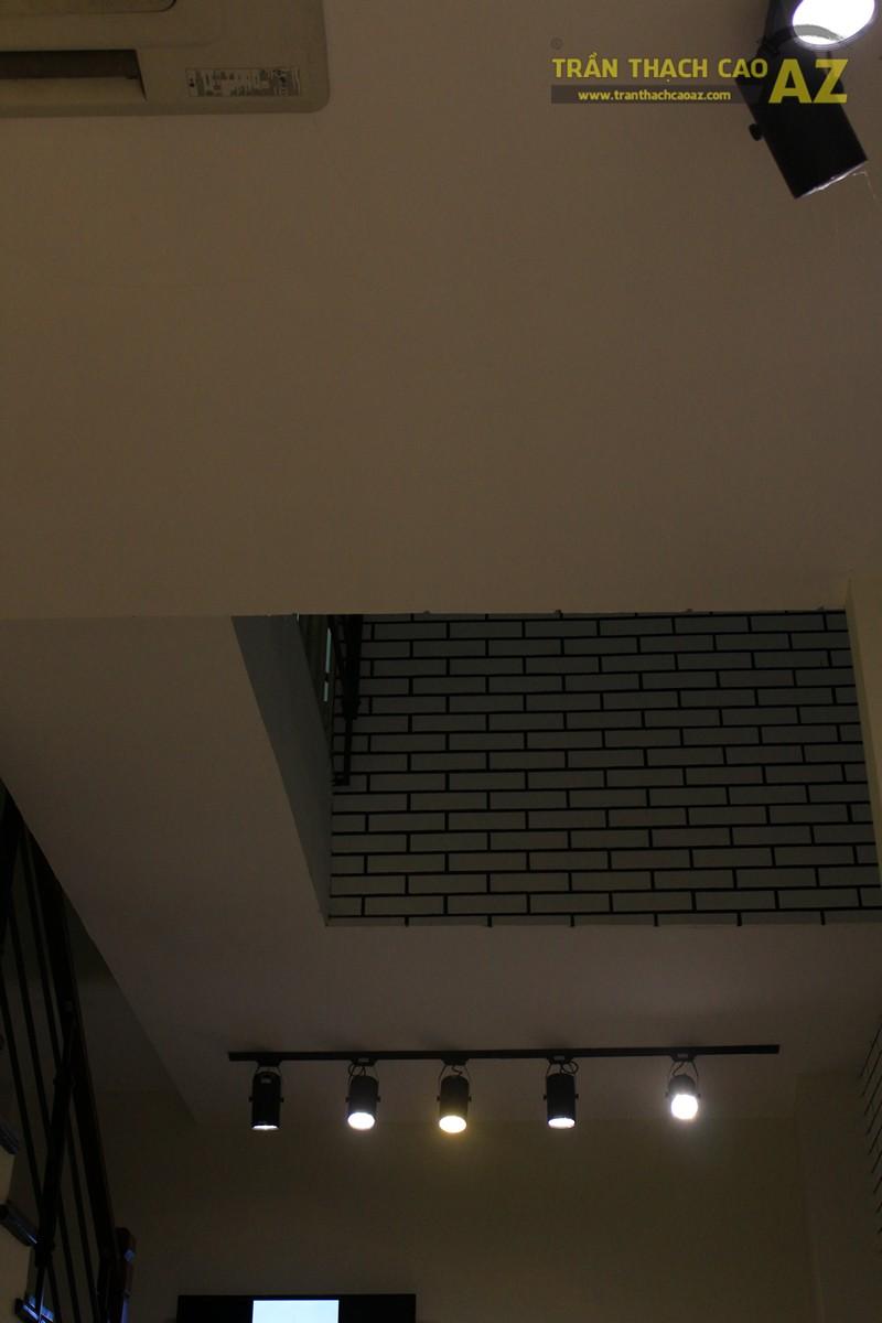 Tạo hình khác biệt, độc đáo của trần thạch cao shop Don Singapore, Hàng Bài - 05