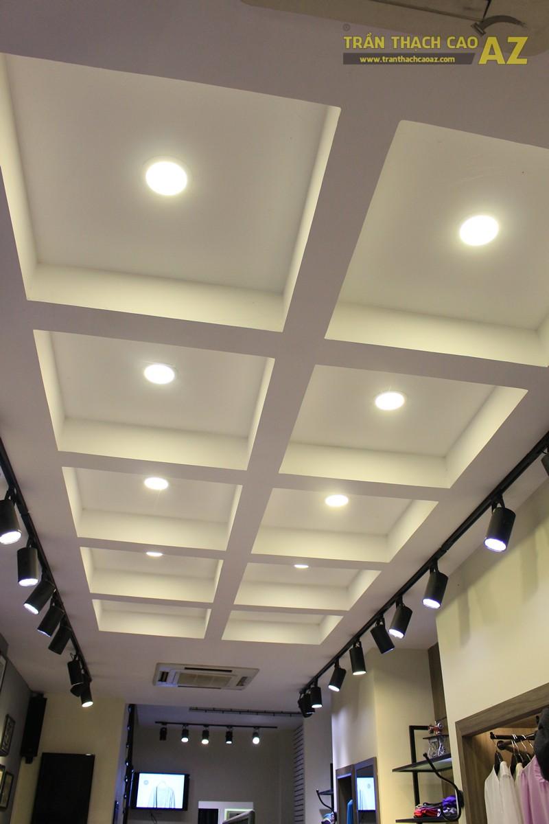 Tạo hình khác biệt, độc đáo của trần thạch cao shop Don Singapore, Hàng Bài - 03