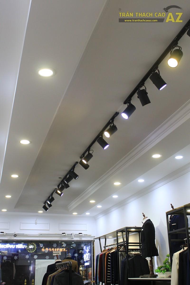 Thiết kế trần thạch cao shop thời trang nam hiện đại của Kelbin, 25B phố Huế - 03
