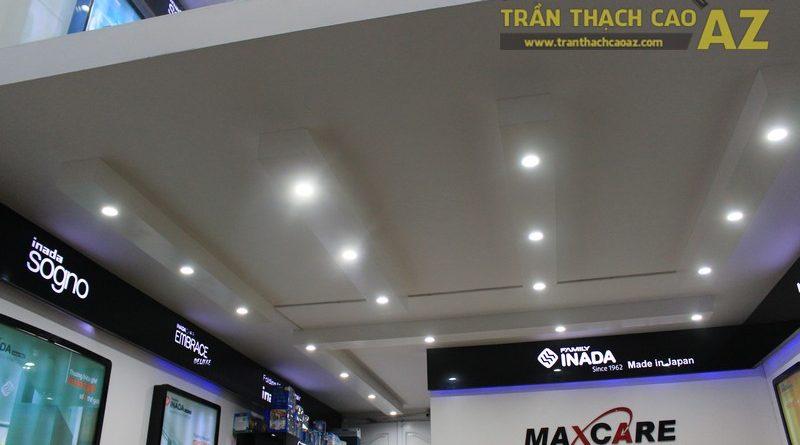 Trần thạch cao cửa hàng thiết bị chăm sóc sức khỏe Maxcare 187 Phố Huế