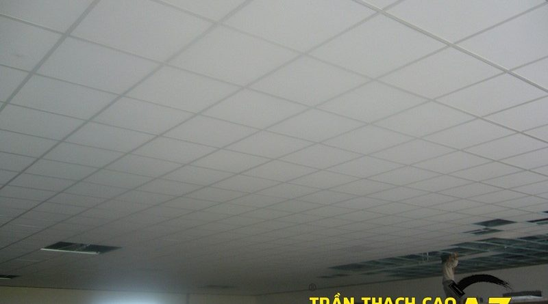 Cách xử lý vết nứt trần thạch cao