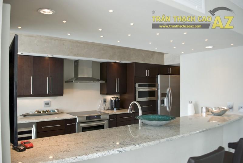 Mẫu trần thạch cao đẹp nhất cho phòng bếp
