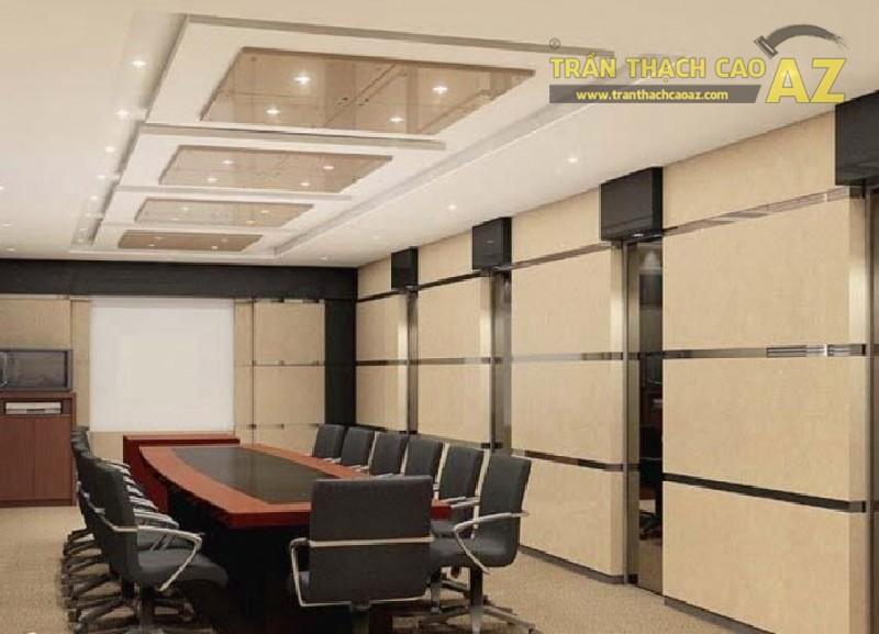 Tư vấn thiết kế trần thạch cao văn phòng tiết kiệm nhất