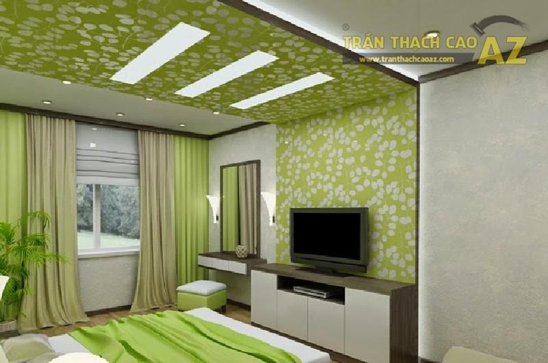10 ý tưởng thiết kế trần thạch cao giật cấp cho phòng ngủ đẹp mĩ mãn