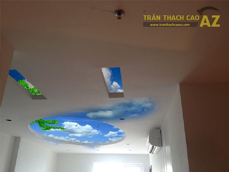 Đơn vị thi công trần thạch cao phối cảnh 3D đẹp nhất Hà Nội