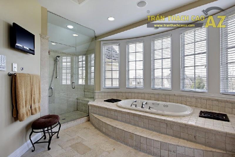 Làm trần thạch cao chịu nước cho phòng tắm là sự lựa chọn tuyệt vời